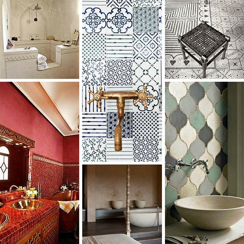 Come arredare un bagno in stile etnico ideagroup blog - Come rivestire piastrelle bagno ...