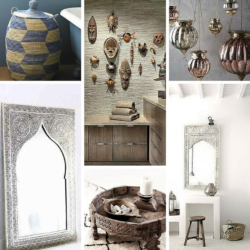 Specchi Per Arredamento.Accessori Arredo Bagno Stile Etnico Specchi Arabo Africano