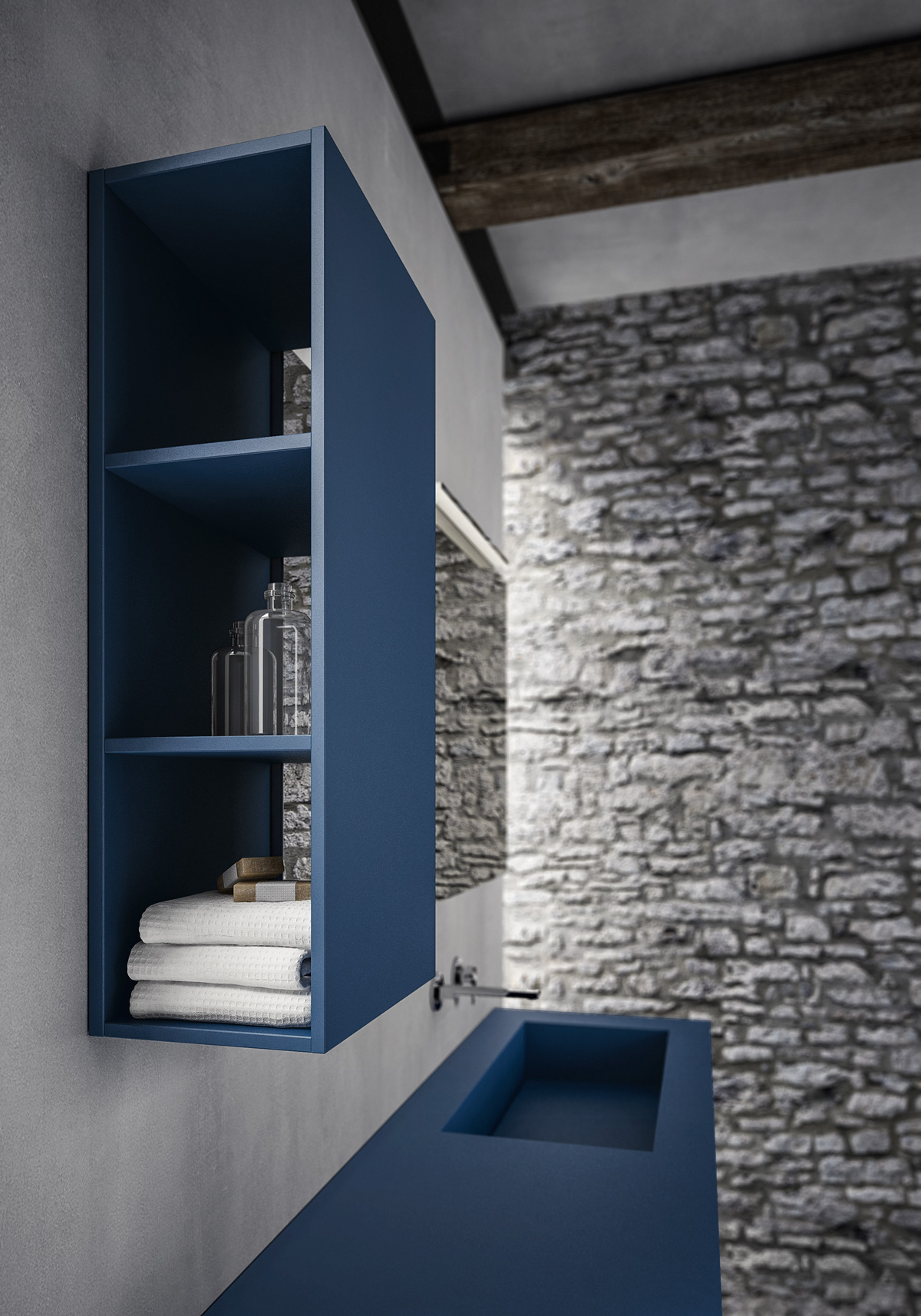 Bagni Moderni Blu