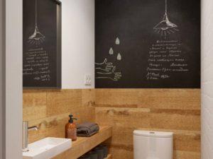 Rivestimento bagno legno lavagna int architecture homify