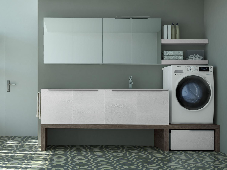 Come Inserire Lavatrice Bagno Piccolo Ideagroup Blog