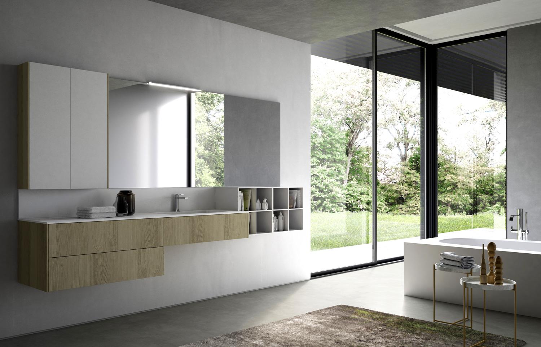 Arredo bagno moderno fabulous mobile arredo bagno moderno for Arredamento moderno economico