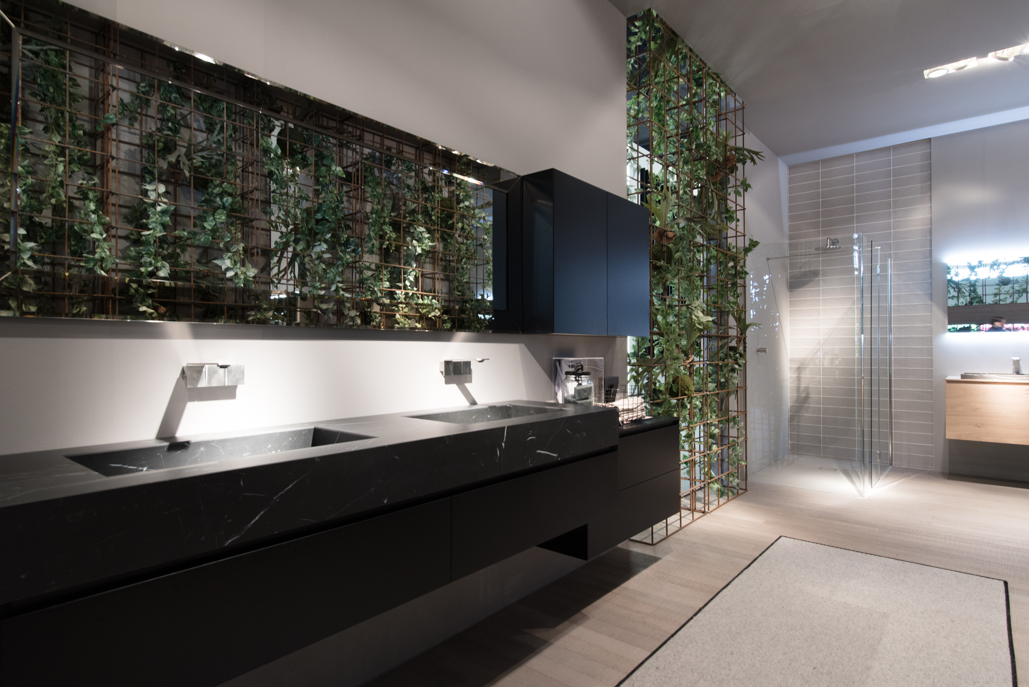 Bagni In Marmo Nero : Arredobagno arredamento cubik idea gres marmo nero ideagroup