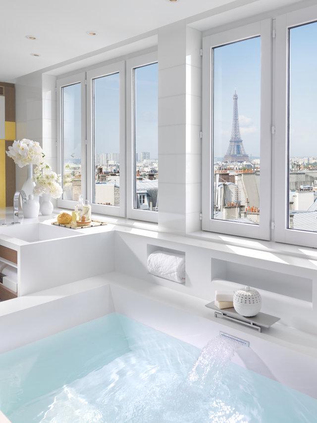 Come progettare un bagno da hotel di lusso a casa - Accessori da bagno di lusso ...