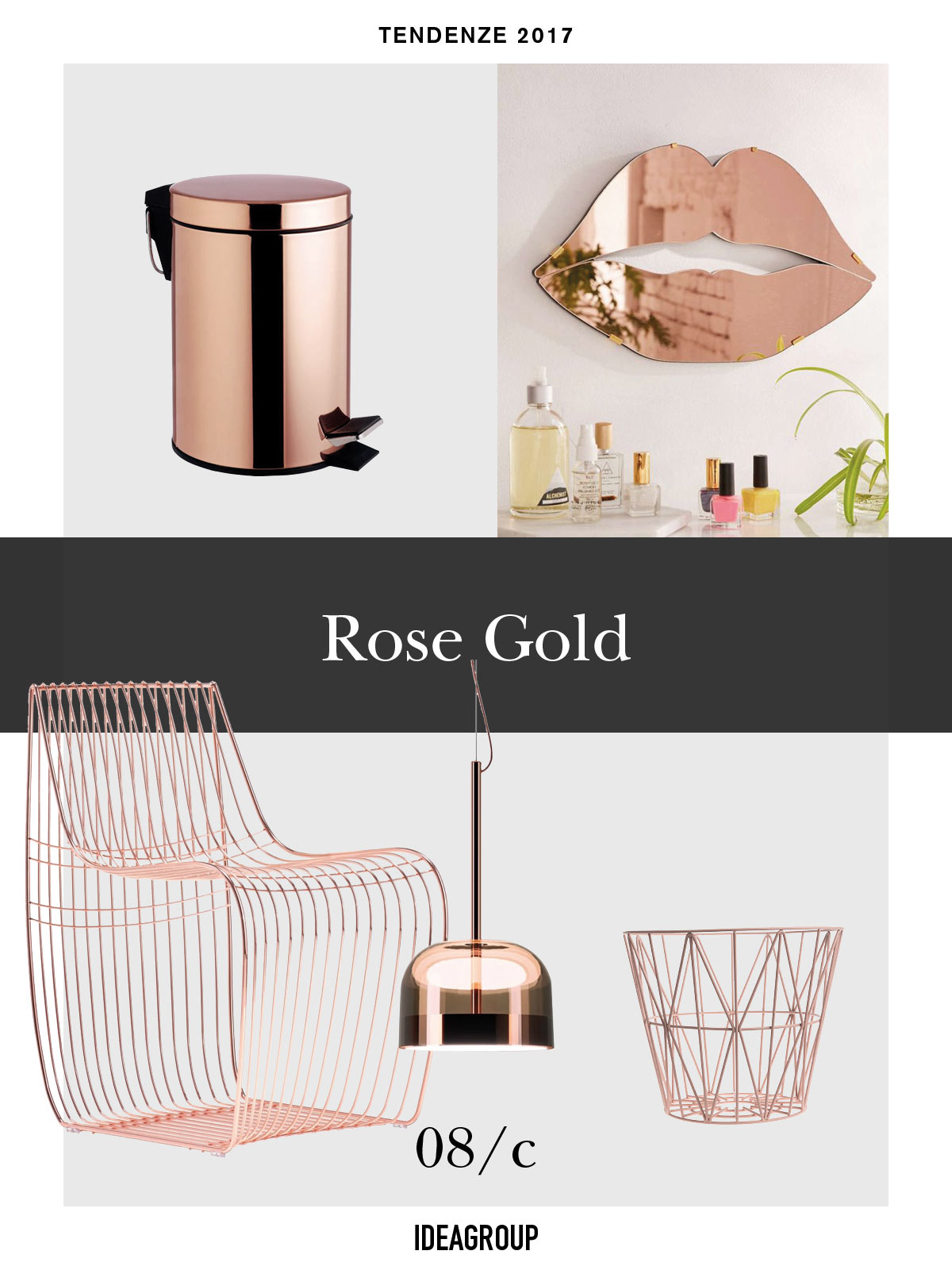 Oro Rosato Complementi Arredo Ideagroup Blog