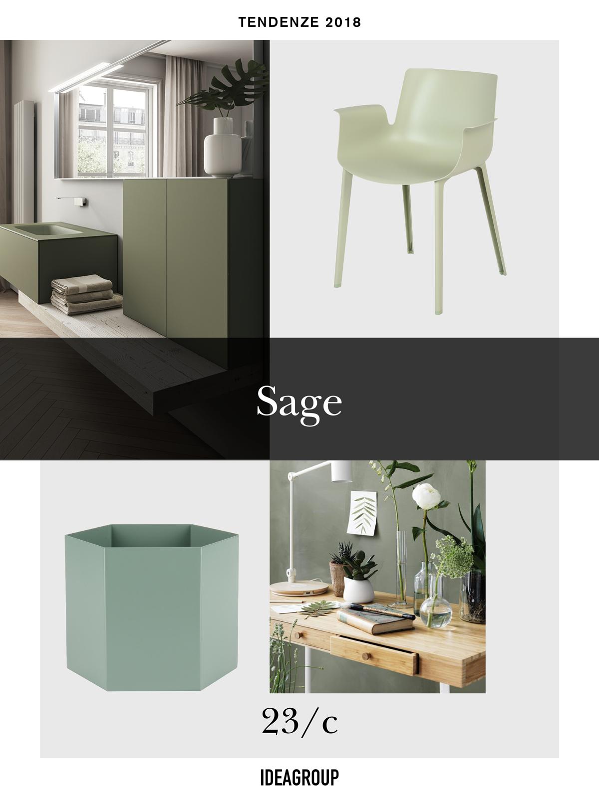 Verde Salvia Il Colore Arredamento Del 2018 Ideagroup Blog