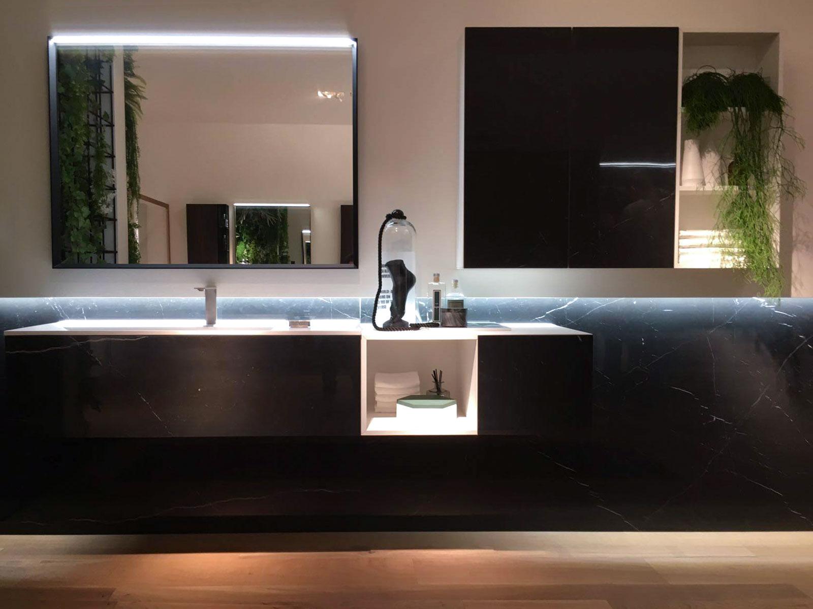 collezione dogma by aqua - arredo bagno ideagroup - salone internazionale del bagno 2018 milano