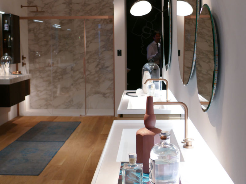 collezione arredo bagno dolcevita - salone del mobile 2018 milano