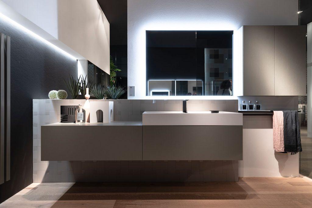 colore mobili bagno moderni
