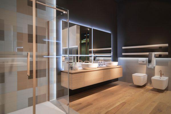 Il colore nella stanza da bagno contemporanea ideagroup blog - Stanza da pranzo contemporanea ...