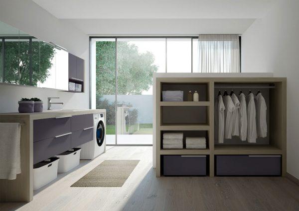 Arredo Bagno Design Piccolo : Come inserire l asciugatrice in un bagno piccolo ideagroup