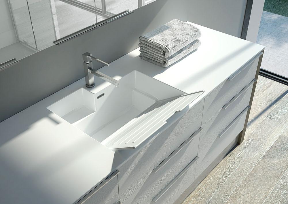 Bagno Con Zona Lavanderia : Come inserire l asciugatrice in un bagno piccolo ideagroup