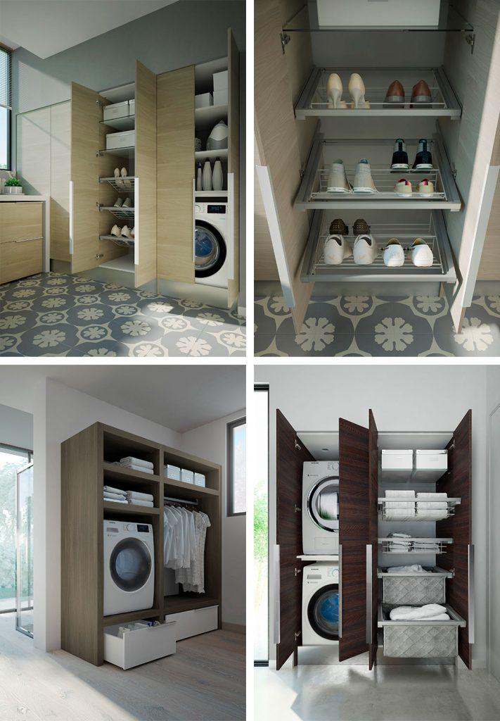 Come inserire l 39 asciugatrice in un bagno piccolo ideagroup blog - Mobili bagno con lavatrice a scomparsa ...