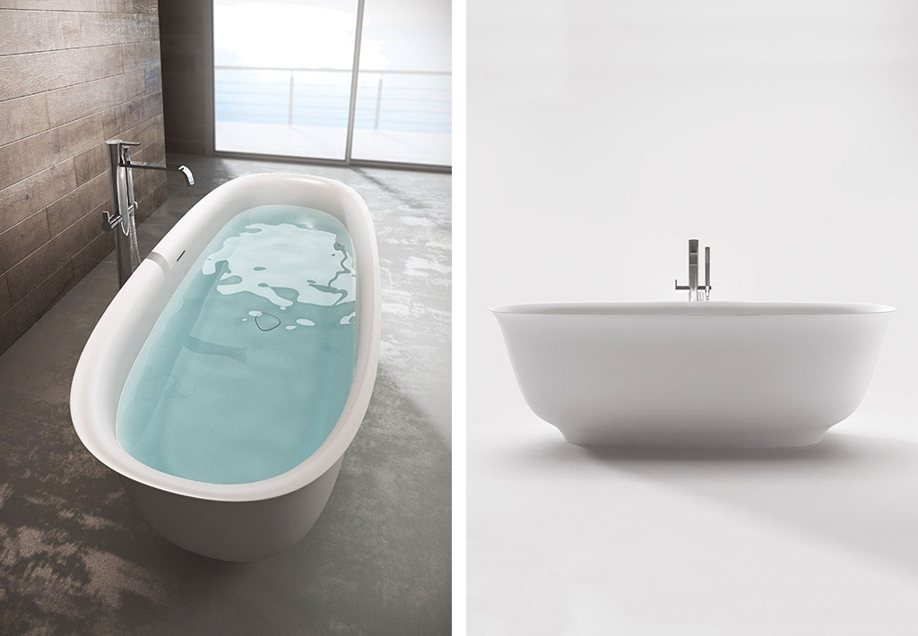 Vasca Da Bagno 160 80 : Vasca da bagno da incasso ovale in acrilico idromassaggio