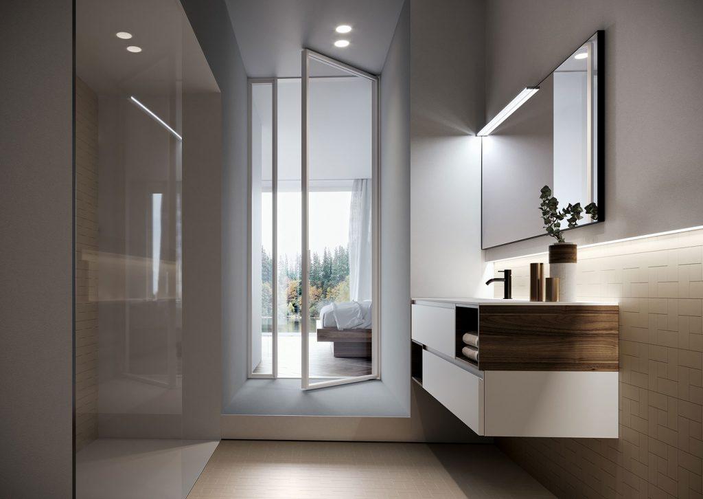 Una sola collezione infiniti stili il design versatile for Bagno arredo design