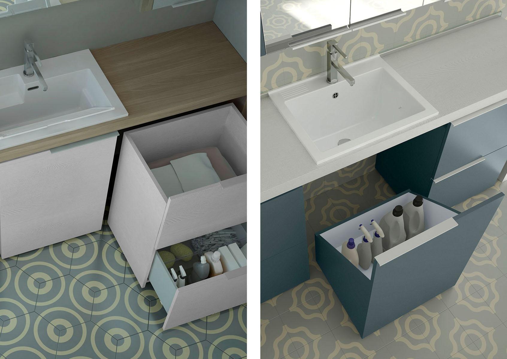 Organizzare I Cassetti Del Bagno : Gli accessori irrinunciabili per un bagno lavanderia ideagroup