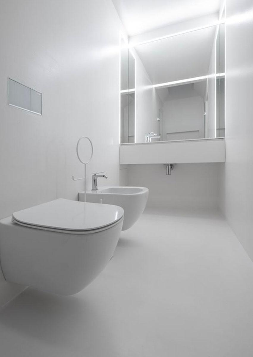 Illuminazione Bagno A Parete come rinnovare o ristrutturare un bagno piccolo - ideagroup blog