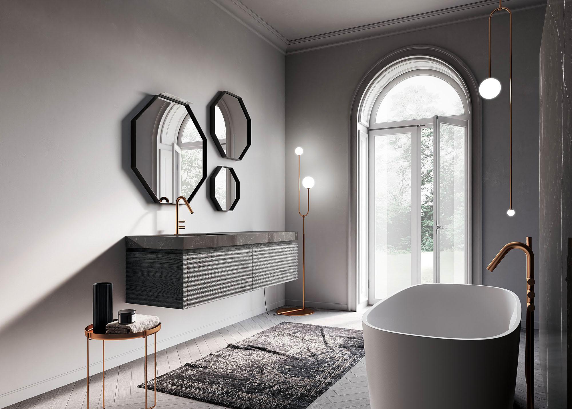 Come Pitturare Le Pareti Di Una Scala Interna come scegliere il colore delle pareti del bagno - ideagroup blog