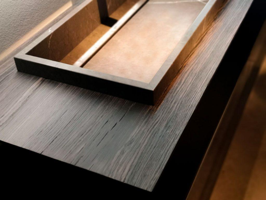 Legno Laminato Per Mobili viva il legno, anche nei mobili bagno - ideagroup blog