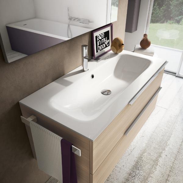 My time mobili per bagno moderno e contemporaneo ideagroup - Bagno verde salvia ...