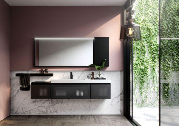 mobili da bagno moderni Cubik