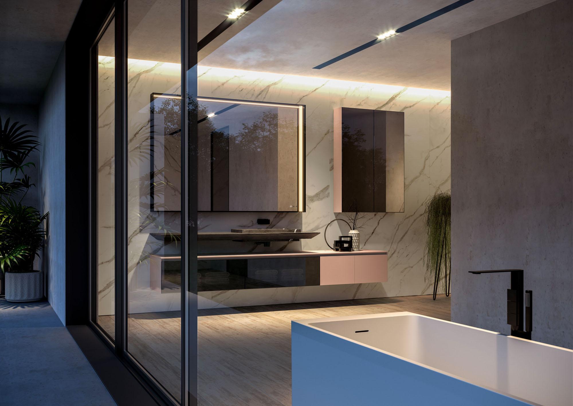 Album Foto Bagni Moderni.Cubik Mobili Da Bagno Moderni Per Arredo Bagno Di Design Ideagroup