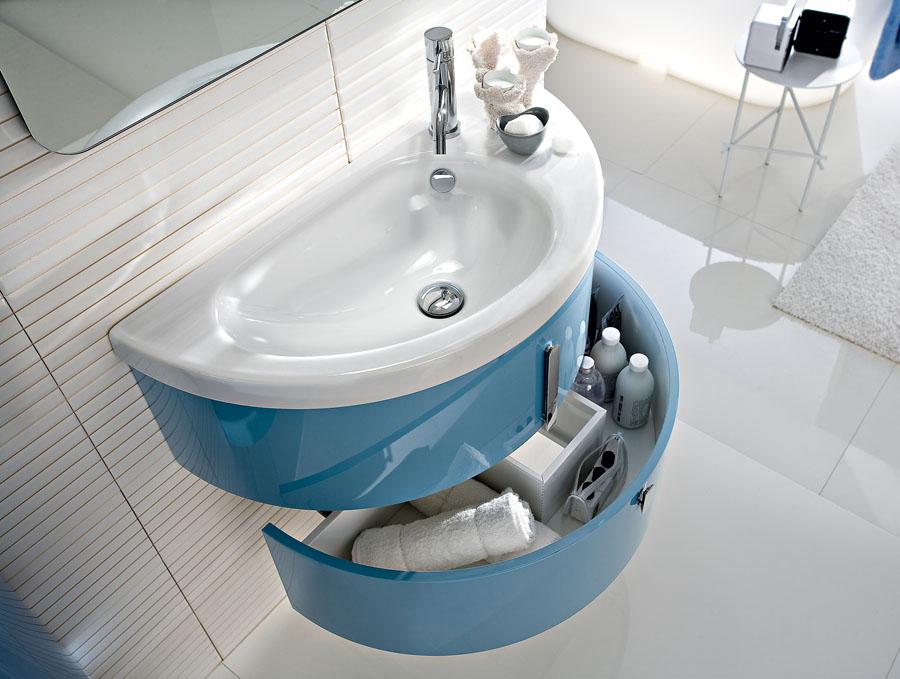 Mobile bagno lavabo mobile bagno sospeso per lavabo cm rovere