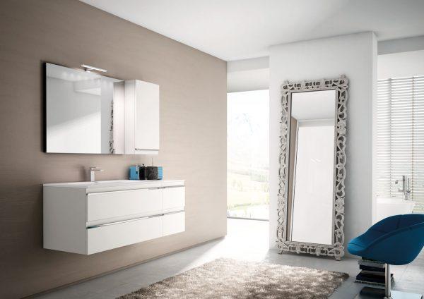 Basic mobili bagno per bagni classici e moderni ideagroup - Mobili laccati moderni ...