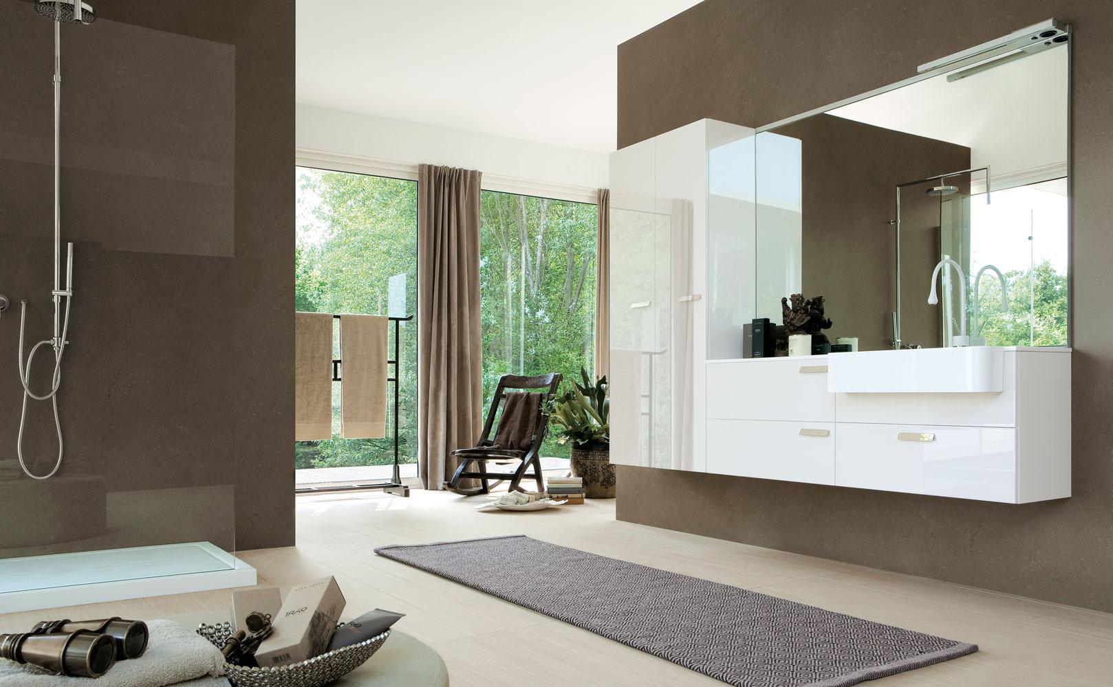 My fly evo arredobagno moderno mobili e accessori bagno for Mobili bagno moderni