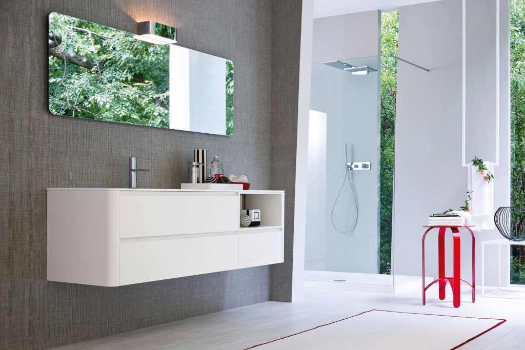 My seventy plus mobili moderni per arredo bagno ideagroup - Specchiera bagno mondo convenienza ...