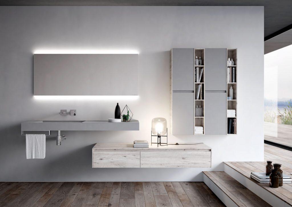 Ny mobili bagno eleganti per bagni moderni ideagroup - Mobili bagno eleganti ...