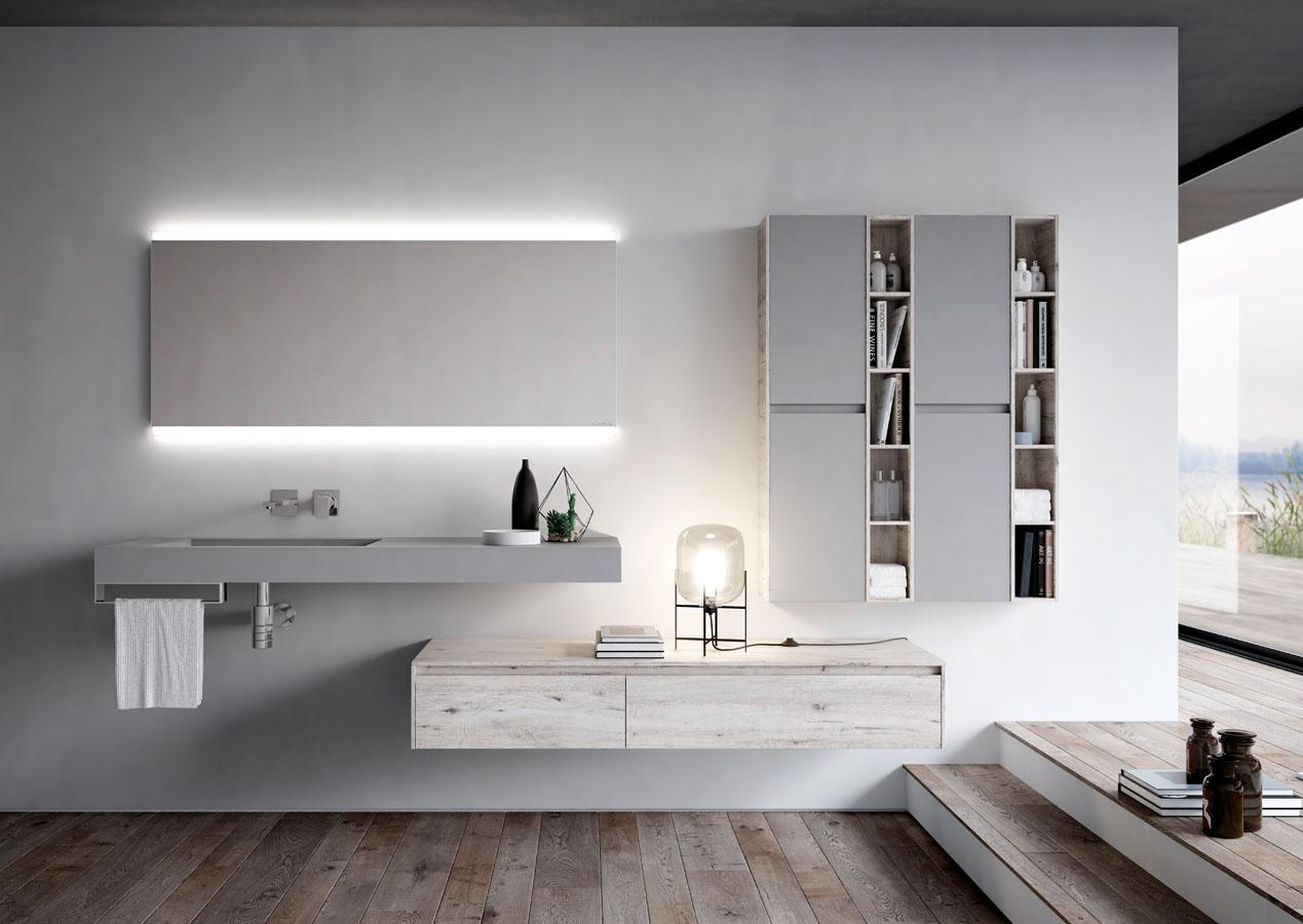 Ny mobili bagno eleganti per bagni moderni ideagroup - Mobili eleganti e raffinati ...