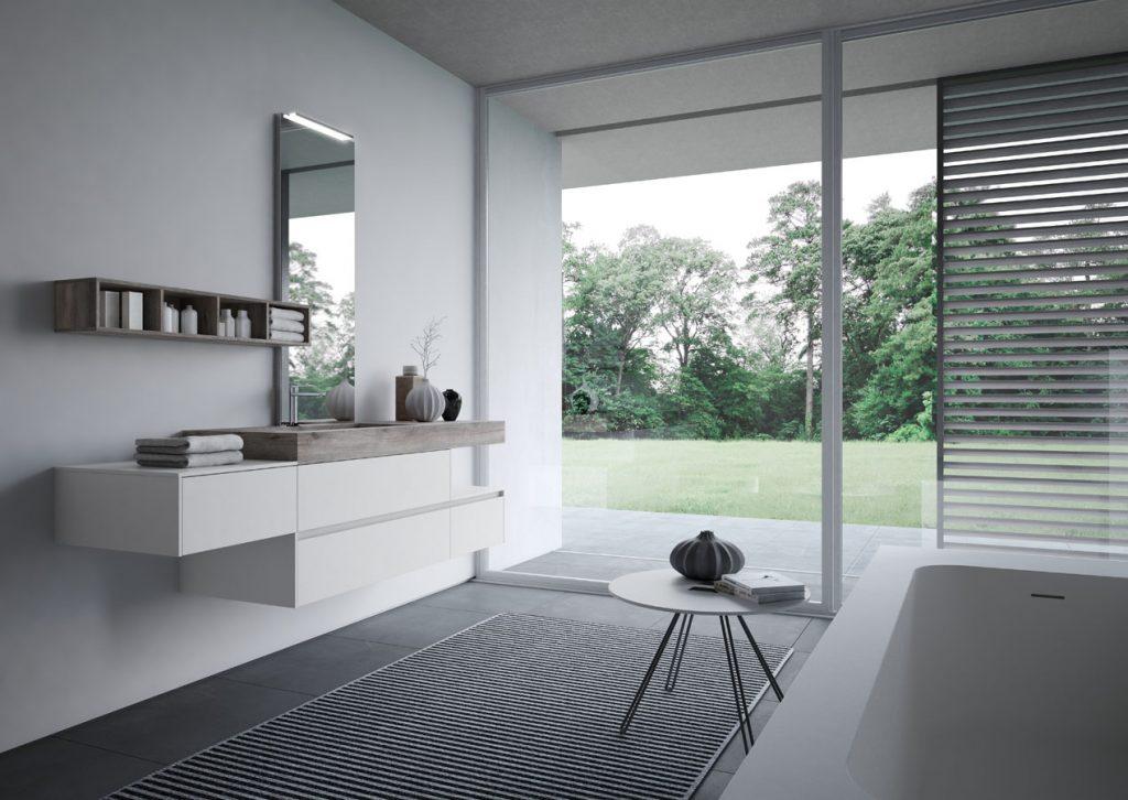 Bagno Aperto In Stile Moderno By Edone Design Interior : Nyù mobili bagno eleganti per bagni moderni ideagroup
