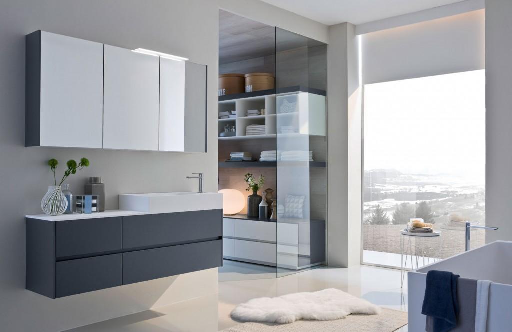 Ny mobili bagno eleganti per bagni moderni ideagroup for Bagni immagini arredamento