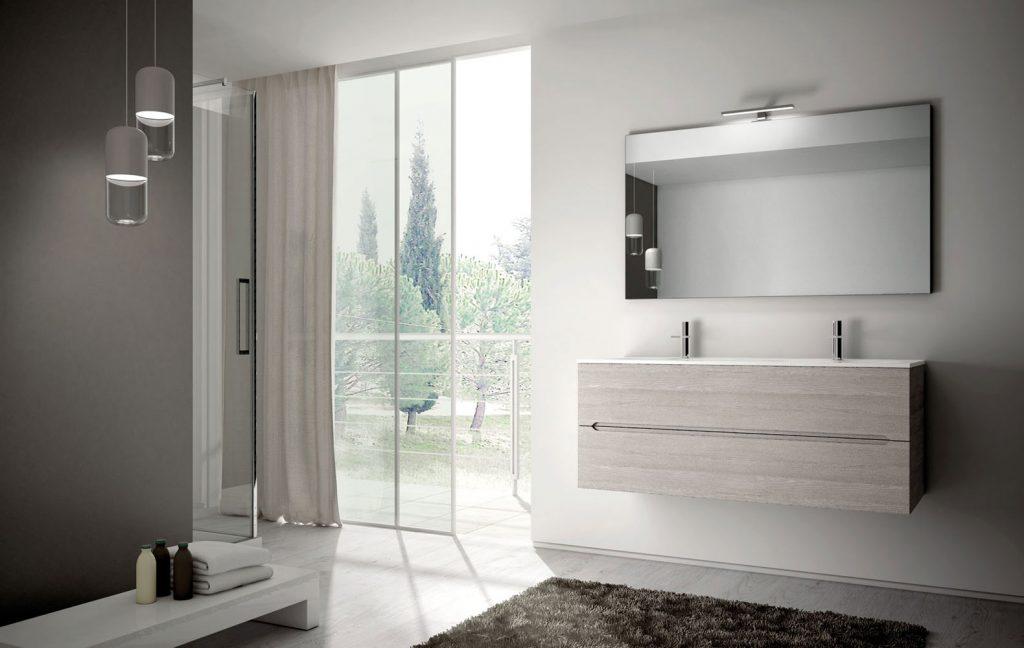 Smyle arredobagno per un bagno moderno e pratico ideagroup - Mobile bagno doppio lavabo mondo convenienza ...