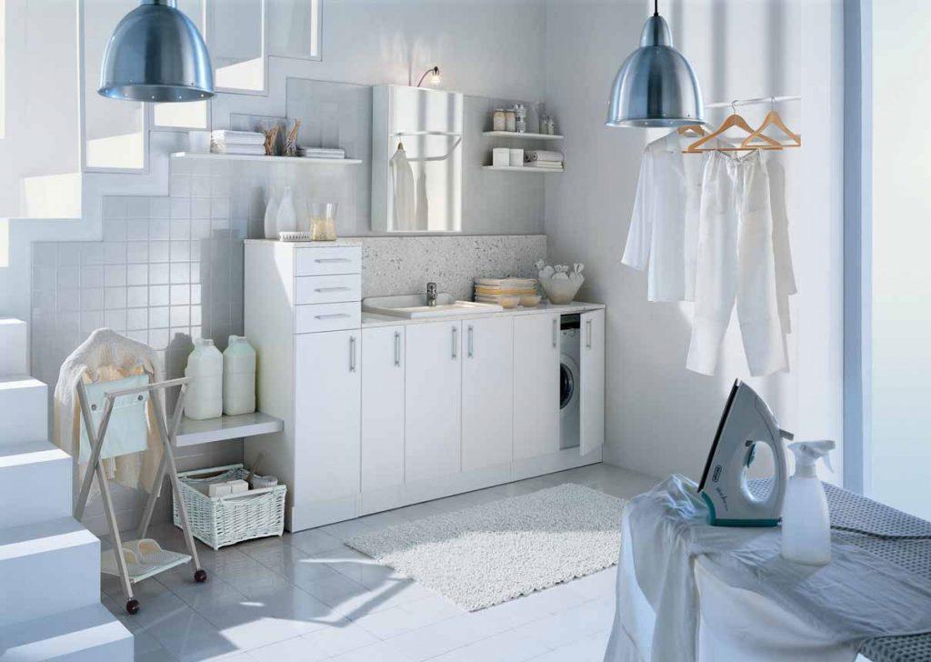 Mobili lavanderia Spazio: soluzioni modulari - IDEAGROUP