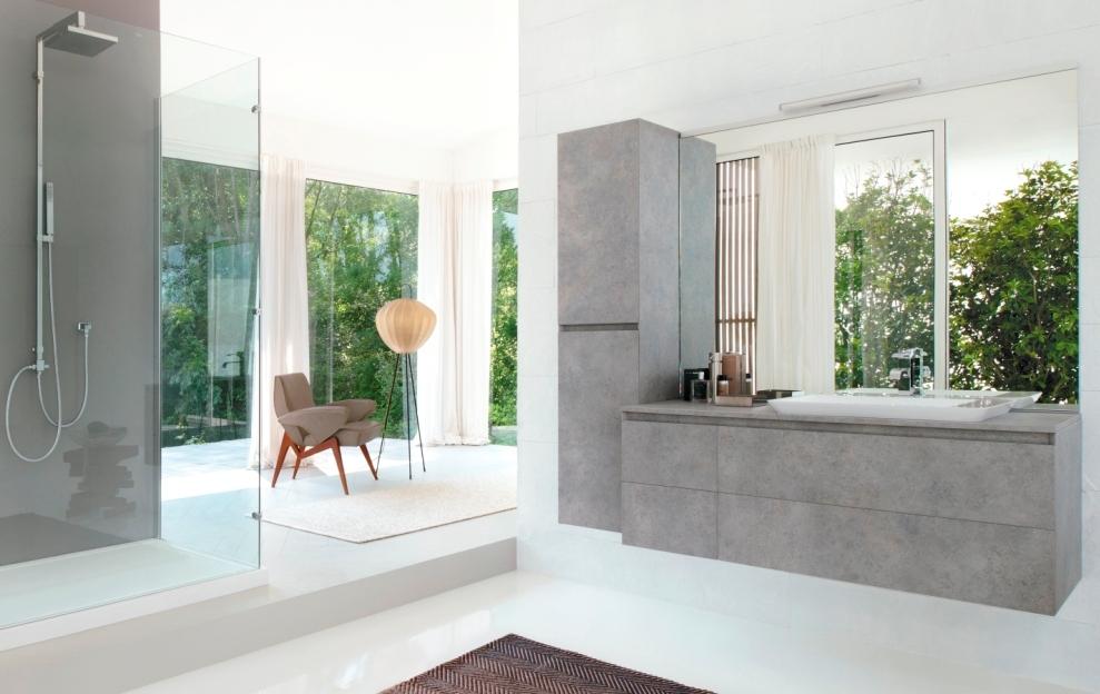 CUBIK la nuova collezione di arredo bagno minimale