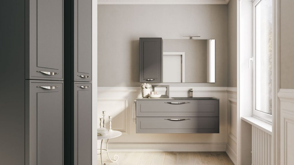 Dressy mobili eleganti per arredo bagno moderno ideagroup for Mobili da bagno moderni prezzi