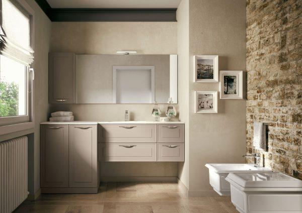 Dressy mobili eleganti per arredo bagno moderno ideagroup - Mobile bagno contemporaneo ...