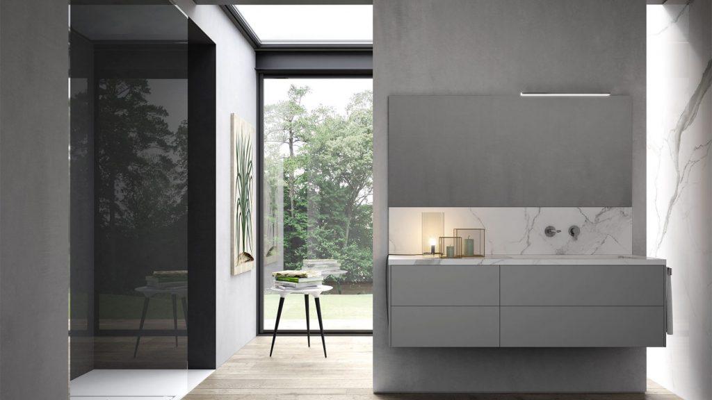 Sense arredo bagno moderno mobili bagno design ideagroup - Mobili da bagno design moderno ...