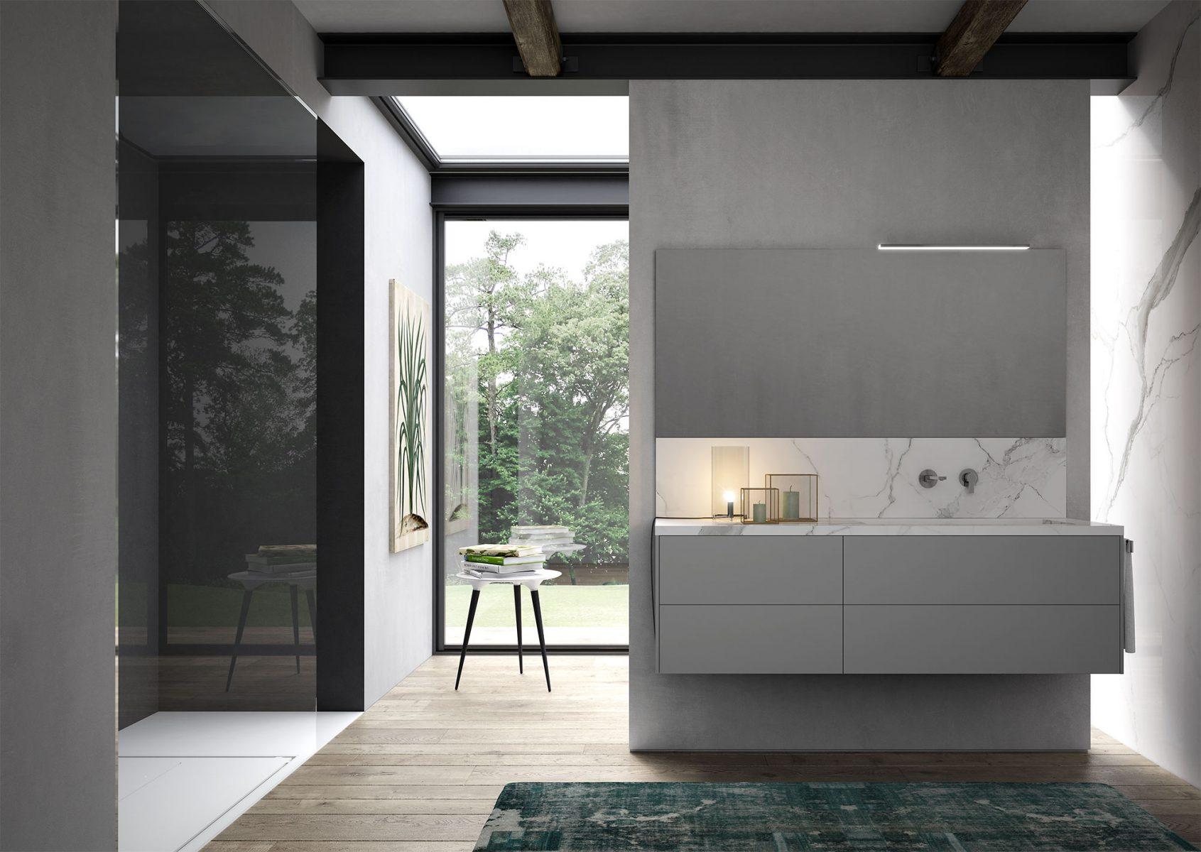Sense arredo bagno moderno mobili bagno design ideagroup - Immagini arredo bagno ...