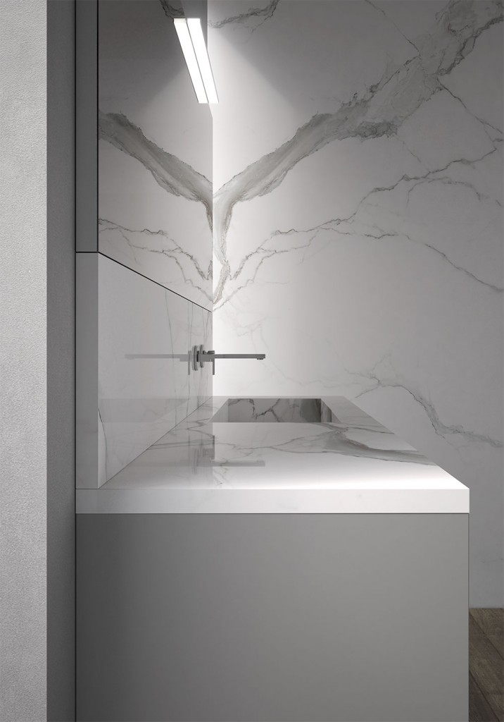 Sense arredo bagno moderno mobili bagno design ideagroup for 3 4 layout del bagno