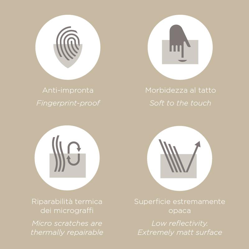 Sense arredo bagno moderno mobili bagno design ideagroup for Fenix materiale