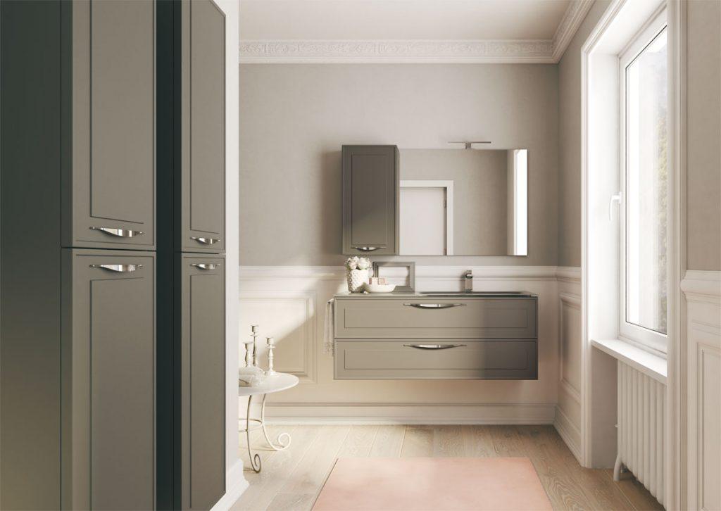 Dressy elegante e contemporaneo ideagroup - Mobili per bagni classici ...
