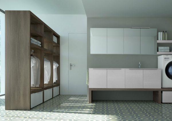 mobili per lavanderia Spazio Time