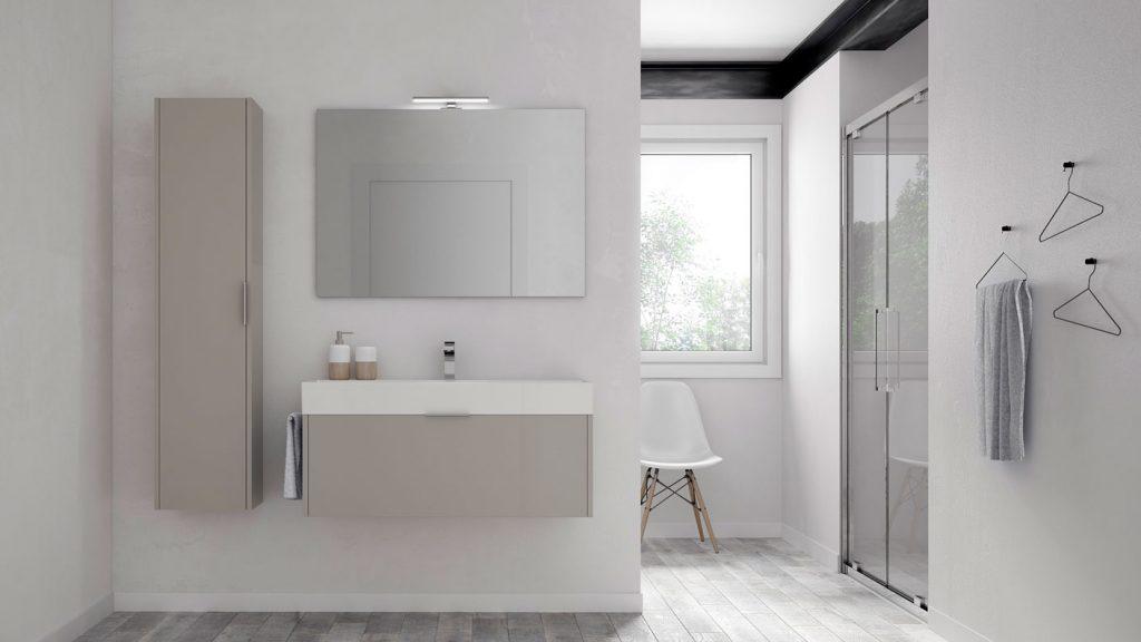 Basic mobili bagno minimal per un bagno funzionale - Idea accessori bagno ...