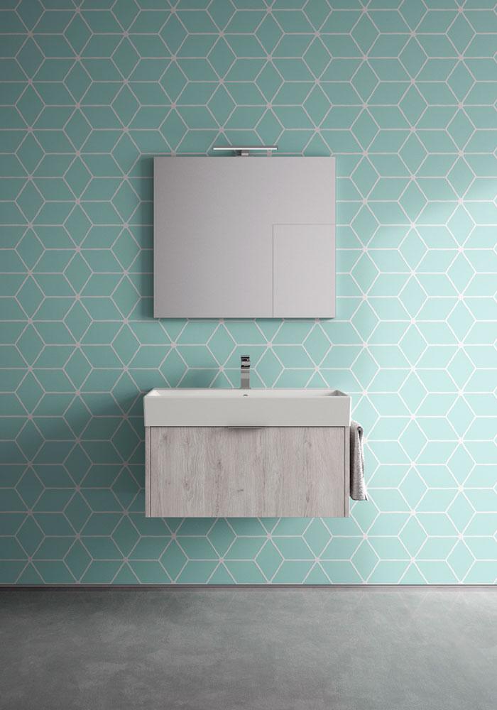 basic: mobili bagno minimal per un bagno funzionale - ideagroup