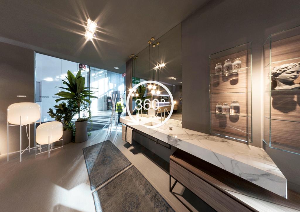 Un salone del bagno a 360 ideagroup for Bagni di design 2016