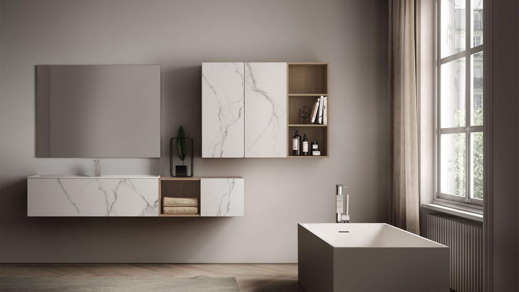 Dogma mobili bagno moderni per bagni di lusso ideagroup - Mobili moderni bagno ...