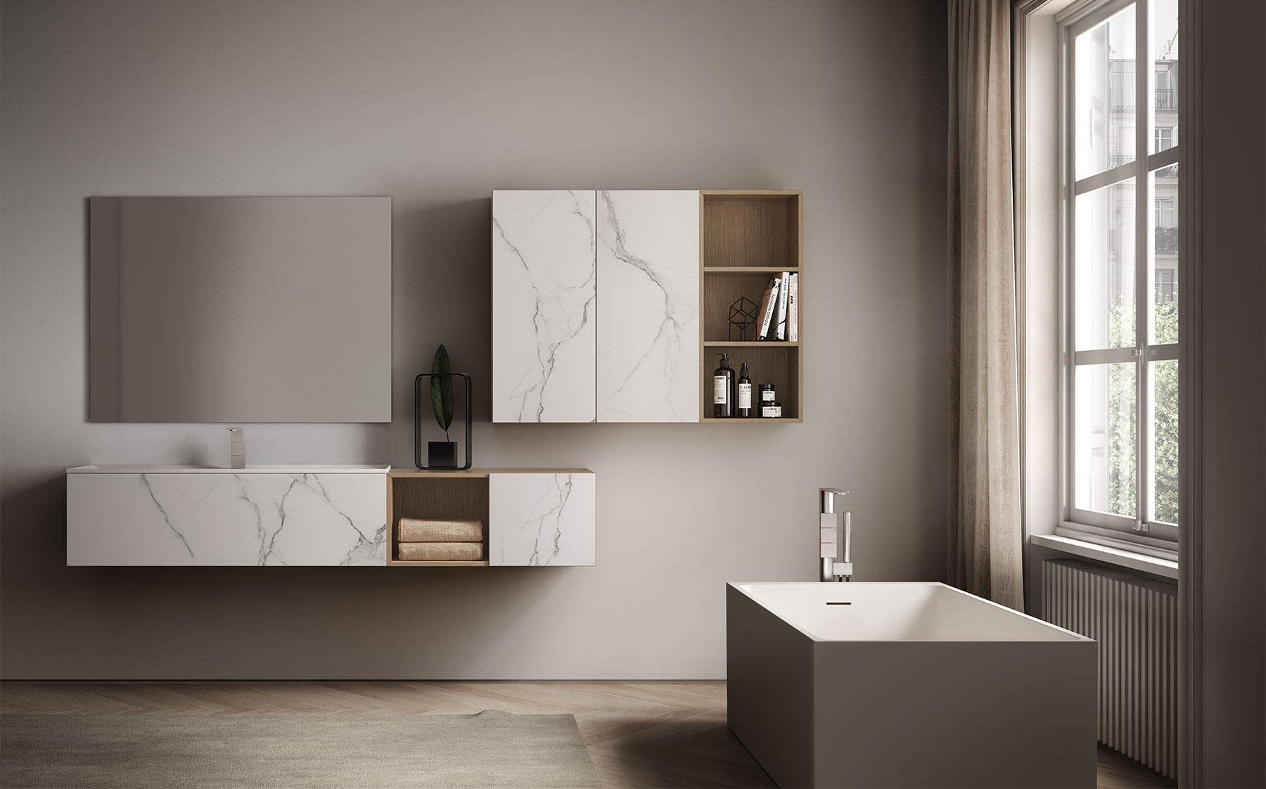 Bagni Di Lusso Moderni dogma: mobili bagno moderni per bagni di lusso - ideagroup